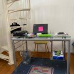 Le bureau de Lamya