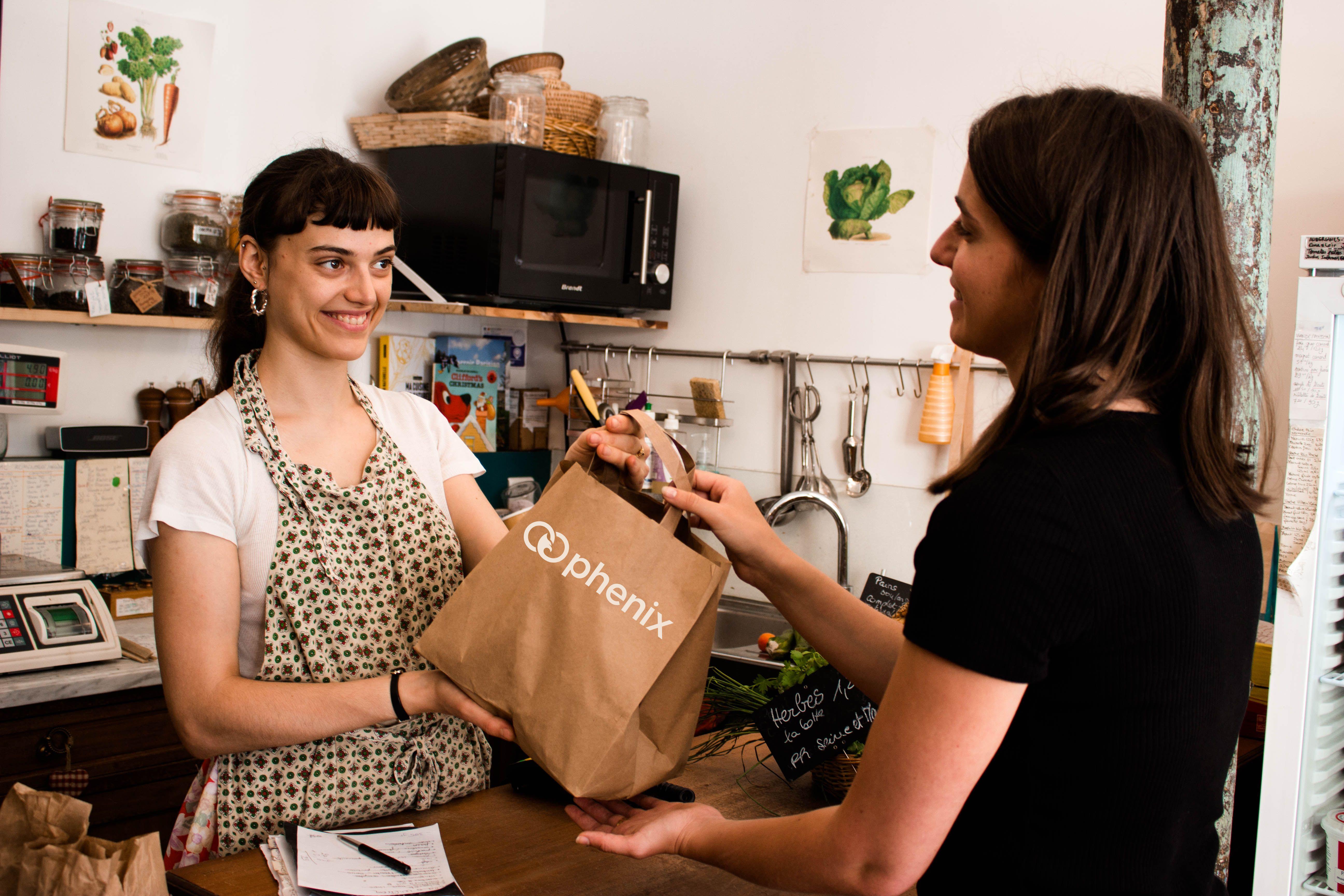 Phenix, nouveau partenaire de Sodexo, l'appli qui vous permet de mettre en vente vos invendus, payables par vos clients en carte Pass Restaurant.