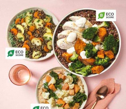 Eco Score food chéri