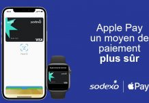 Apple pay est disponible au paiement en carte pass restaurant sodexo