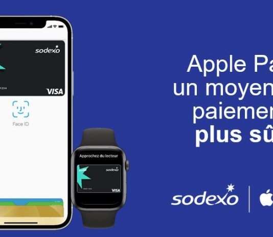 Apple pay est disponible au paiement en carte pass restaurant sodexo